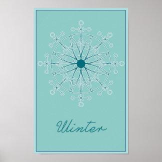 Seizoenen: Het Poster van de winter
