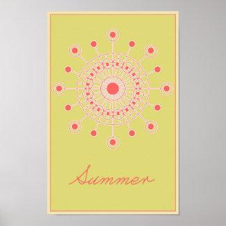 Seizoenen: Het Poster van de zomer