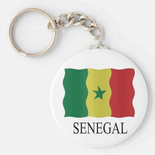 Senegal flag sleutelhanger