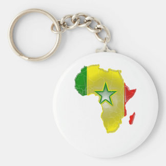 Senegal Sleutelhanger