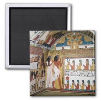 Sennedjem en zijn vrouw onder ogen zien naos magneet
