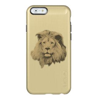 Sepia Leeuw Incipio Feather® Shine iPhone 6 Hoesje