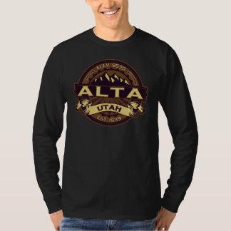 Sepia van Alta Logo T Shirt