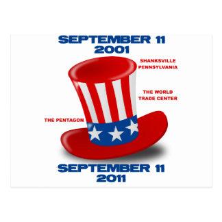 September-11-Jubileum-oom-SAM-pet Briefkaart