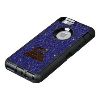 Serpent van de Dierenriem van de leder-blik het OtterBox Defender iPhone Hoesje