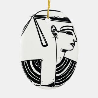 Serquet Schorpioen 1 Keramisch Ovaal Ornament