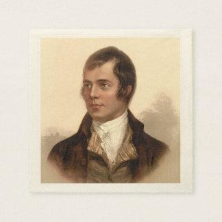 Servetten van de Droom van Robert Burns de Schotse Papieren Servetten