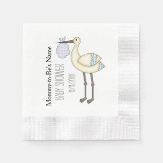 Servetten van het Document van het Baby shower van Papieren Servetten