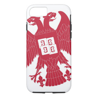 Servisch Eagle iPhone 7 Hoesje