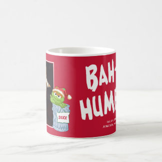 Sesame Street | Bah Humbug Oscar met Foto Koffiemok