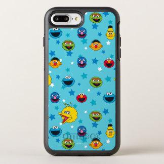 Sesame Street | Beste Patroon van de Ster van OtterBox Symmetry iPhone 8 Plus / 7 Plus Hoesje