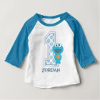 Sesame Street | Eerste Verjaardag van het Monster Baby T Shirts