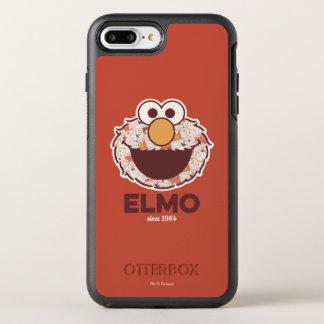 Sesame Street | Elmo sinds 1984 OtterBox Symmetry iPhone 8 Plus / 7 Plus Hoesje