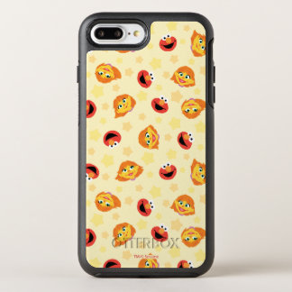 Sesame Street | Geel Patroon van de Ster Julia & OtterBox Symmetry iPhone 8 Plus / 7 Plus Hoesje