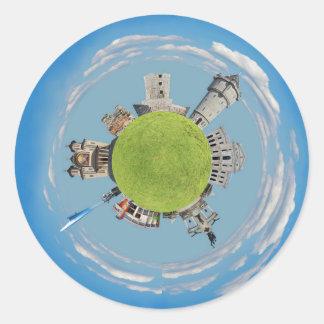 severin uiterst kleine planeet Roemenië van Ronde Sticker