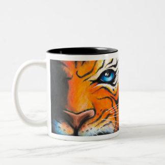 Sevigny_Mug_Tasse_Tiger_full Tweekleurige Koffiemok