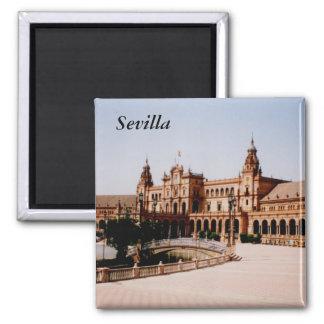 Sevilla Vierkante Magneet
