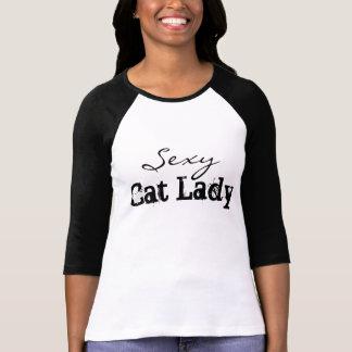 Sexy Kat Dame Tee T Shirt