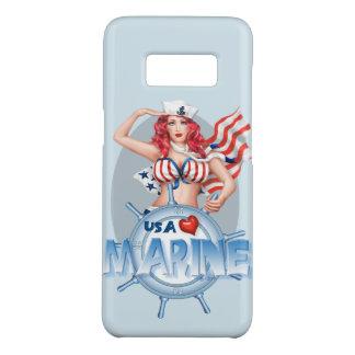 SEXY MARIENE CARTOON Samsung Galaxy8 NAUWELIJKS Case-Mate Samsung Galaxy S8 Hoesje