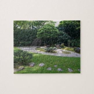 SF de Japanse Puzzel van de Tuin van Zen van de Legpuzzel