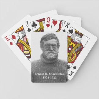 Shackleton in Antarctisch Nimrod afbeelding Speelkaarten