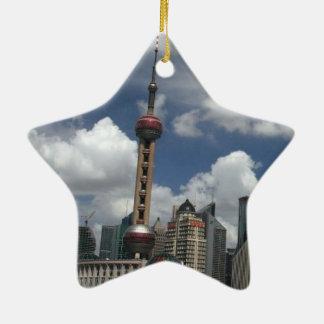 SHANGHAI KERAMISCH STER ORNAMENT