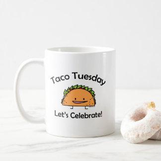 Shell van de Dinsdag van de taco Woensdag van het Koffiemok