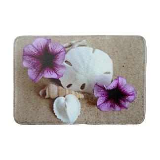 Shells en de Bloemen van de Badmat van de Scène