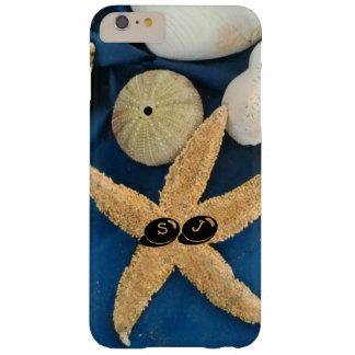 Shells en de jongens van het zee met uw initialen barely there iPhone 6 plus hoesje