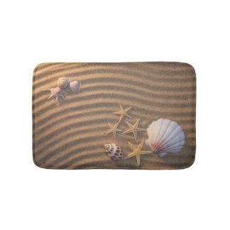 Shells en de Zeester van het zee Badmat