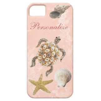 Shells van de Druk, van de Zeester & van het Zee Barely There iPhone 5 Hoesje