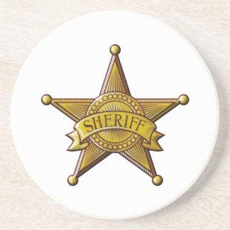 Sheriff Zandsteen Onderzetter
