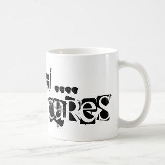Shhh - niemand geeft… koffiemok