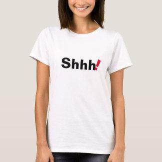 shhh trendy grappig de t-shirtontwerp van het t shirt