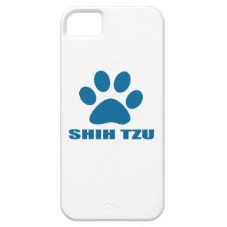 SHIH HET DESIGN VAN DE TZU- HOND BARELY THERE iPhone 5 HOESJE