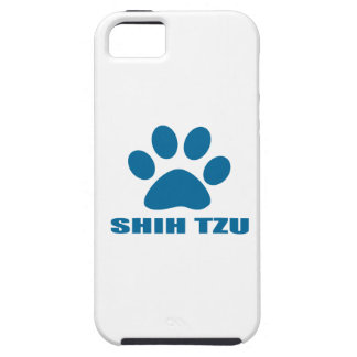 SHIH HET DESIGN VAN DE TZU- HOND TOUGH iPhone 5 HOESJE