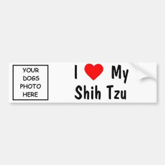 Shih Tzu Bumpersticker