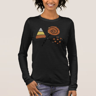 Shimmery Ontspannen Pasvorm van het Snoep van T Shirts