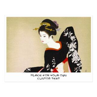 Shimura Tatsumi Twee Onderwerpen van Japanse Briefkaart