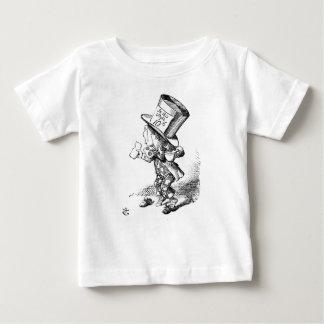 Shoeless Gekke Hoedenmaker Baby T Shirts