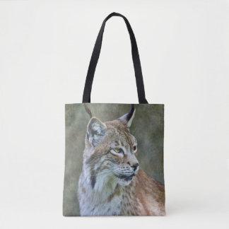 Siberische Lynx helemaal over de Zak van de Druk Draagtas