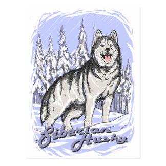 Siberische Schor Briefkaart