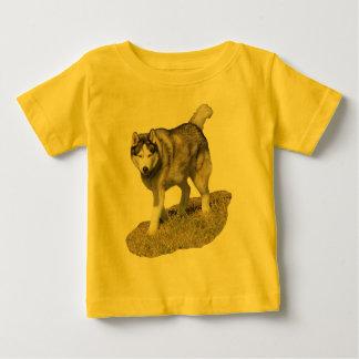 Siberische Schor Hond Baby T Shirts