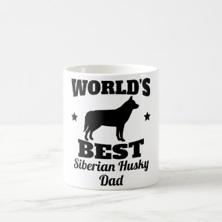 Siberische Schor Papa van werelden de het best Koffiemok