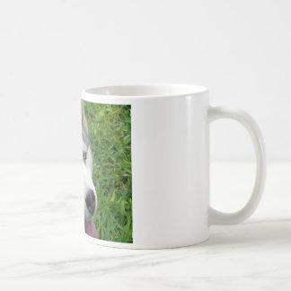 Siberische Schor Sjabloon Koffiemok