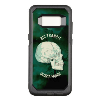 Sic Doorgang Gloria Mundi Vintage Turquoise Skull OtterBox Commuter Samsung Galaxy S8 Hoesje
