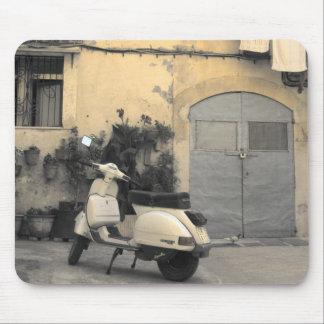 Siciliaanse typische hoek muismatten