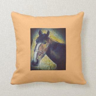 Sierkussen Horses-Art