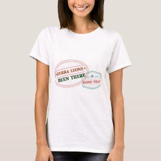 Sierra Leone daar Gedaan dat T Shirt