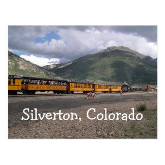Silverton, het Briefkaart van Colorado